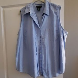 EUC Ralph Lauren Sleevless Blouse